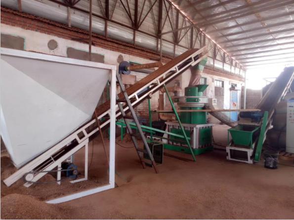 时产1-1.5吨颗粒生产线